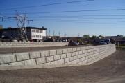 Mur Redi Rock à la Clinique St-Louis, Ville de Québec