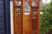 Portes de jardin et tonnelles